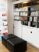 Reception area at Gordon Wilson Hairdressing