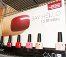 Shellac nail products